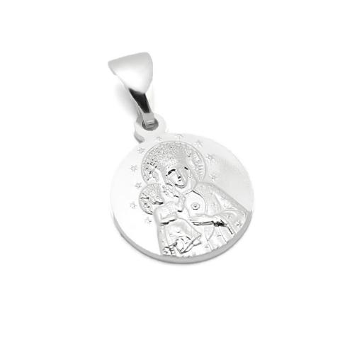 Medalik z Matką Bożą...