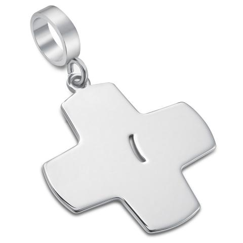 Srebrny krzyż z raną