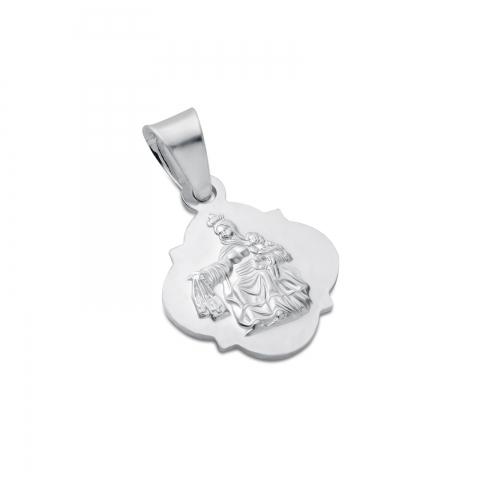 Medalik srebrny Szkaplerz...